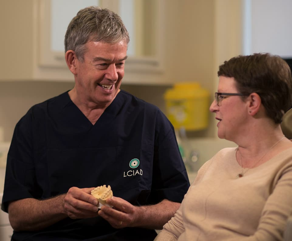 Dr Geoff Pullen general and implant dental surgeon