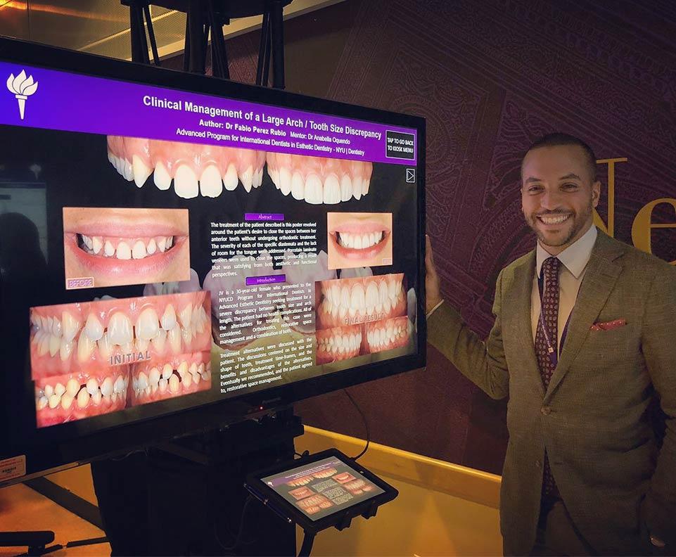 LCIAD Dr Fabio Perez case presentation NYU